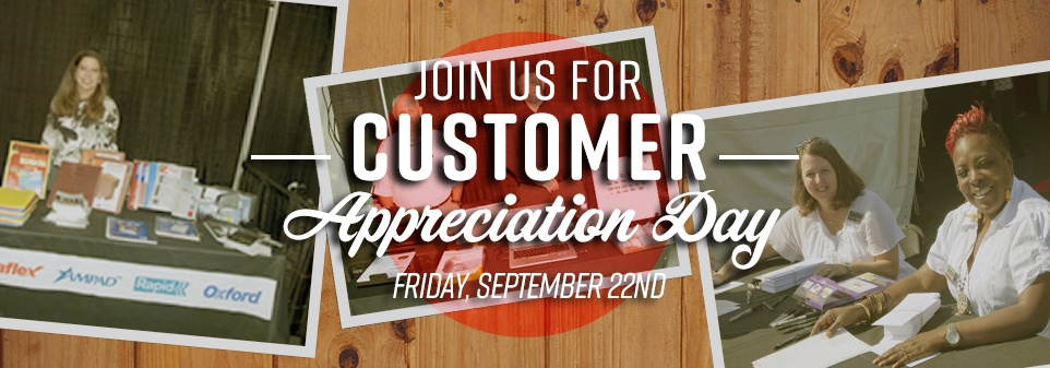 Join Us for Customer Appreciation Day
