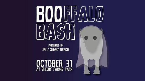 Boofalo Bash Banner Shelby Farms Park