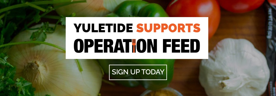 Yuletide Supports Operation Feed