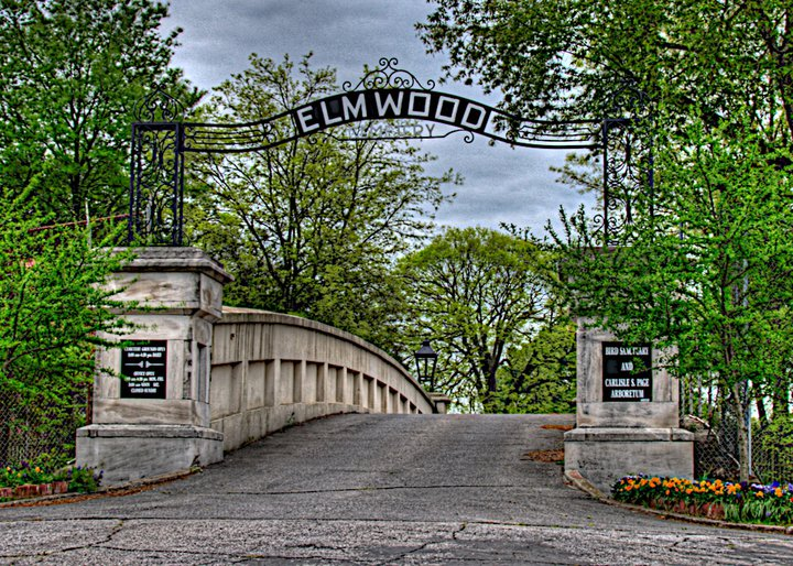 Elmwood Cemetary Entrance
