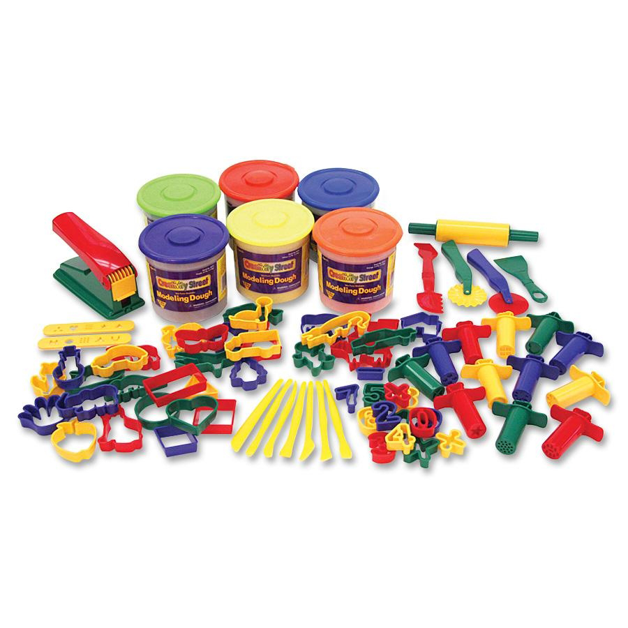 Classic Playdough & Tool Set