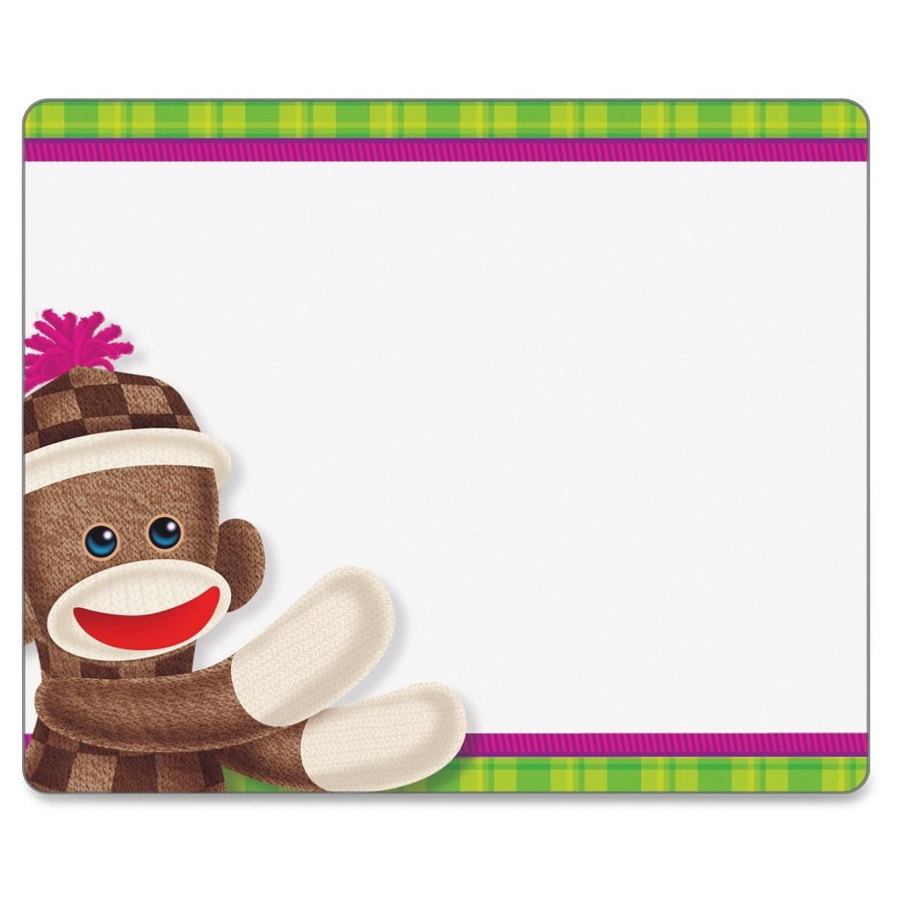 Sock Monkey Tags